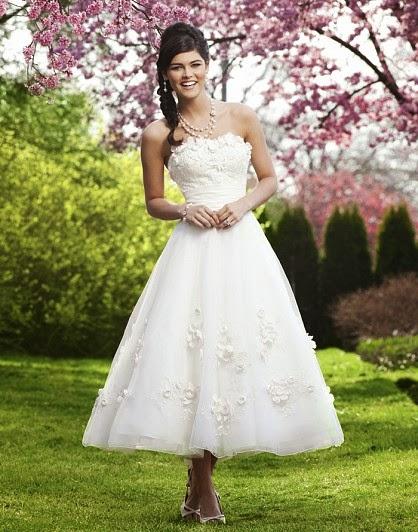 Suzannes Bridal Blog Shorter Wedding Dress Styles To Wear This Summer