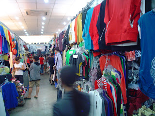 Cloth shops in Vietnam