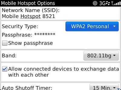 Cara Setting Mobile Hotspot BB Blackberry Wifi caramembuatkoneksi.blogspot.com