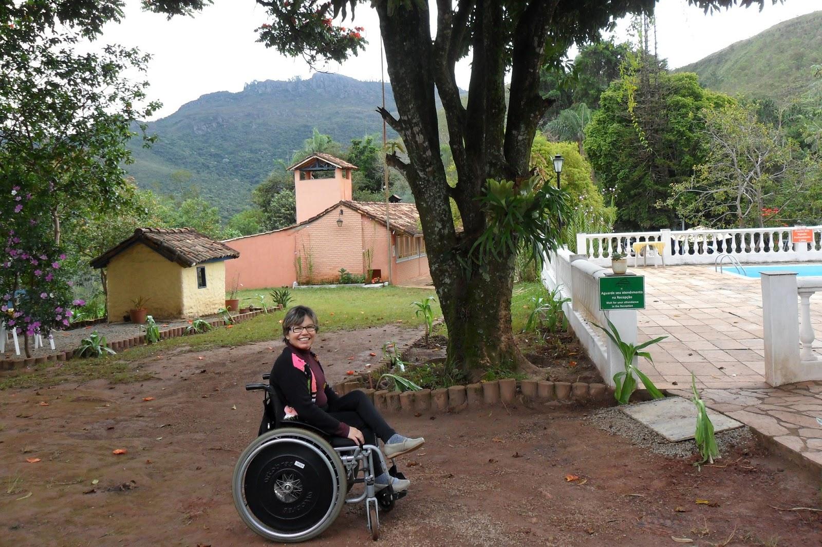 Minas Eco Spa. Ou: cadeirante também tem direito a descanso e lazer #875944 1600x1066 Banheiro Cadeirante Tamanho
