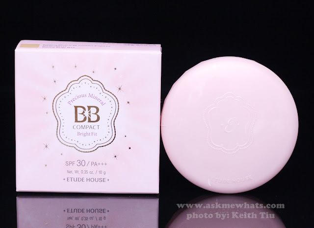 A photo of Etude House Precious Mineral BB Compact Bright Fix