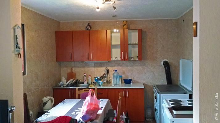 Кухня в апартаментах, Жабляк