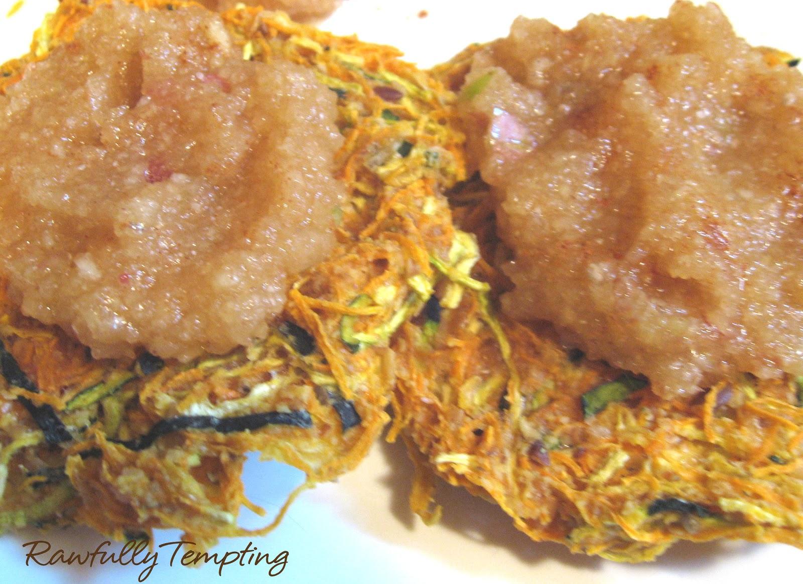 Rawfully Tempting™Sweet Potato Latkes (Pancakes)