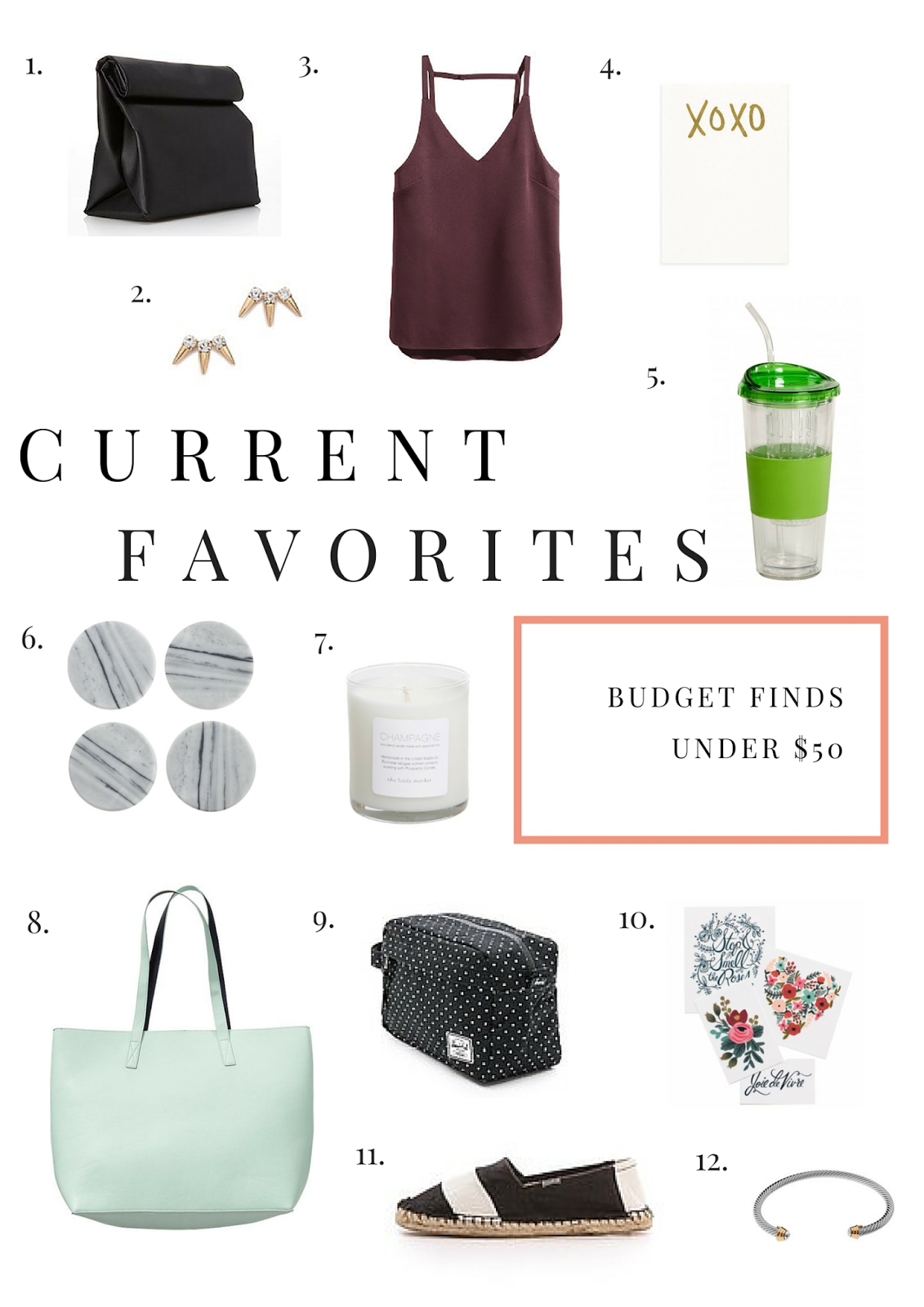 Budget Buys, Favorites, Fashion, Project Soiree