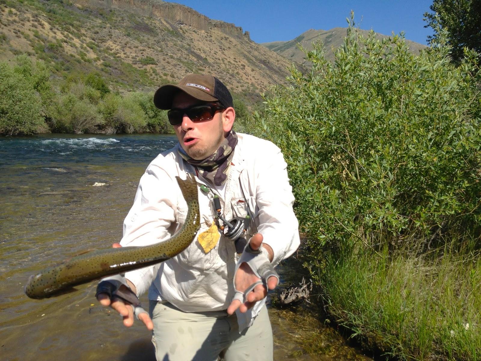 Erik s fly fishing blog back again for Boise river fishing