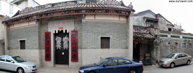 Exterior de la Sala de Estudios Kun Ting