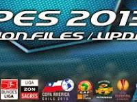 Option File PES 2013 untuk PESEdit 6.0 update 30 Agustus 2015