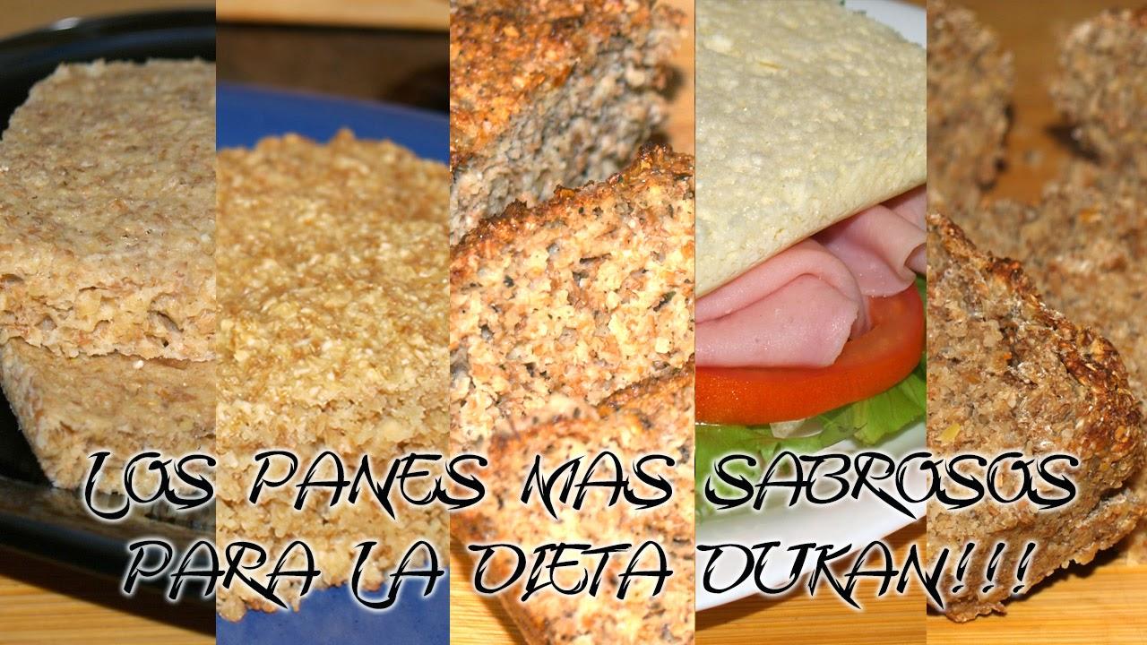 los panes mas sabrosos para la dieta dukan
