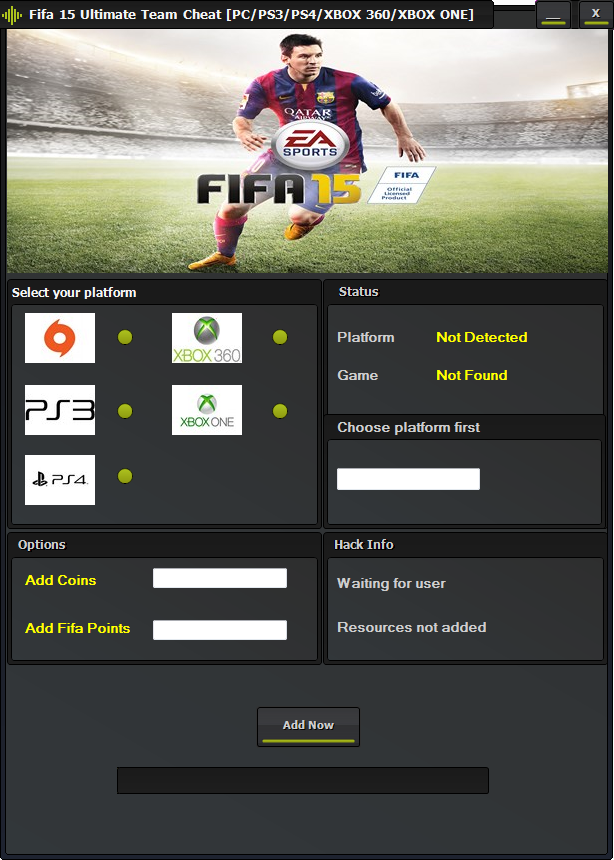 Fifa 15 Ultimate Team Coins Hack & Cheat