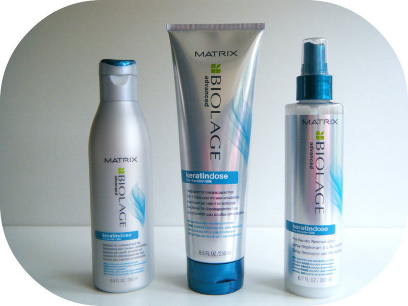 Matrix Biolage Advance Keratindose Review