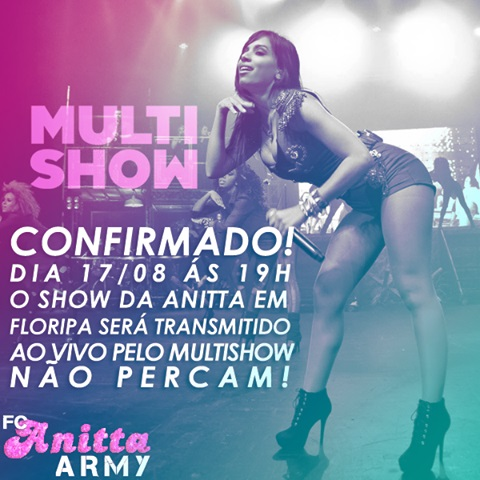 Download - Multishow : Anitta - Show Das Poderosas (2013)