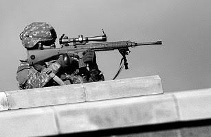 SR-25 Semi-Automatic Sniper Rifle