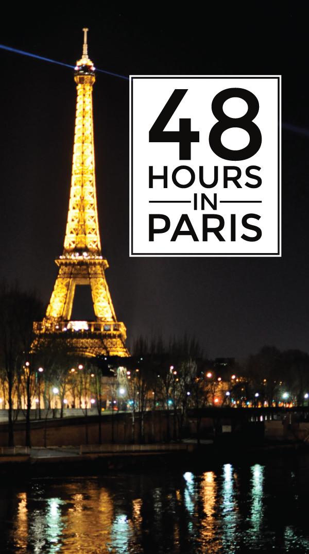 48 hours in Paris.
