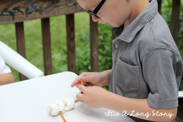 how to make a marshmallow gun without blowing