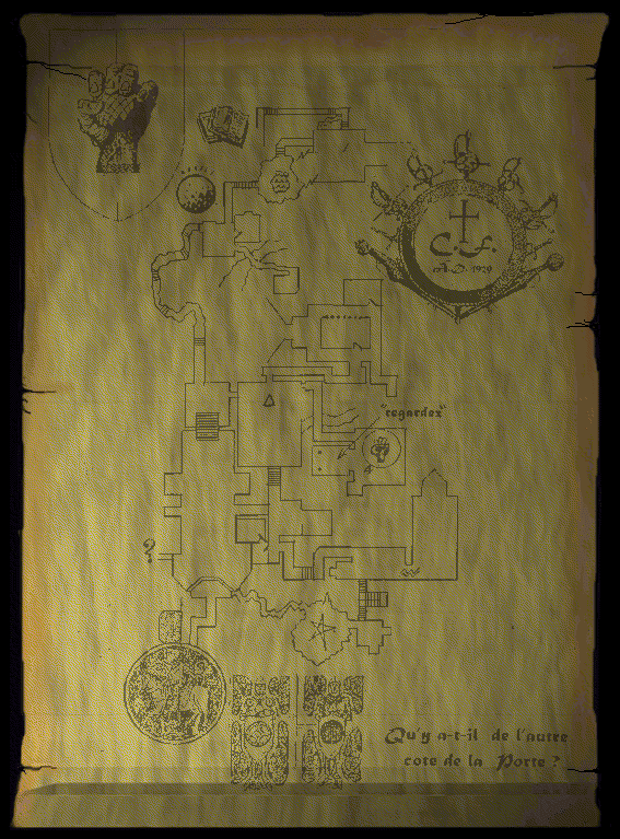 Realms of the Haunting mausoleum map