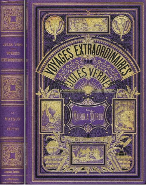 Vintage Book Cover Ideas ~ Art of the beautiful grotesque fabulous worlds jules verne