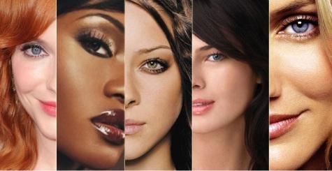 Descoramento de produtos de pele