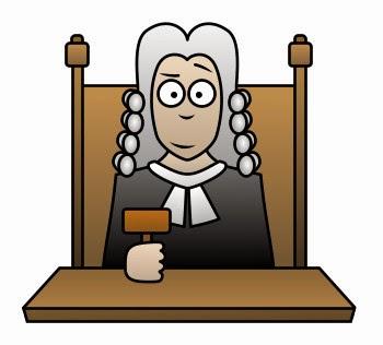 gambar kartun hakim