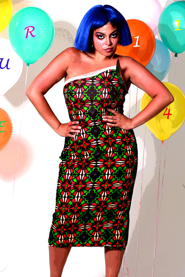 plus-size-african-print dresses- pagne africain en grande taille