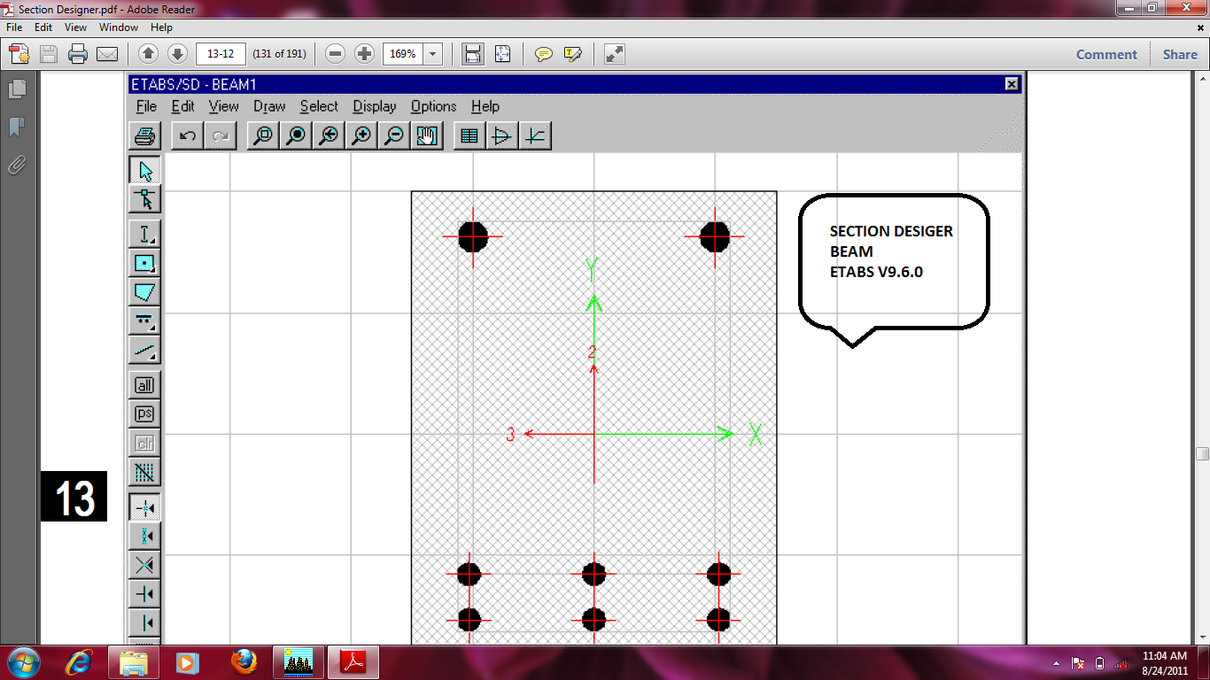 Diaphragm Wall Design Xls : Cracked section modifier aci