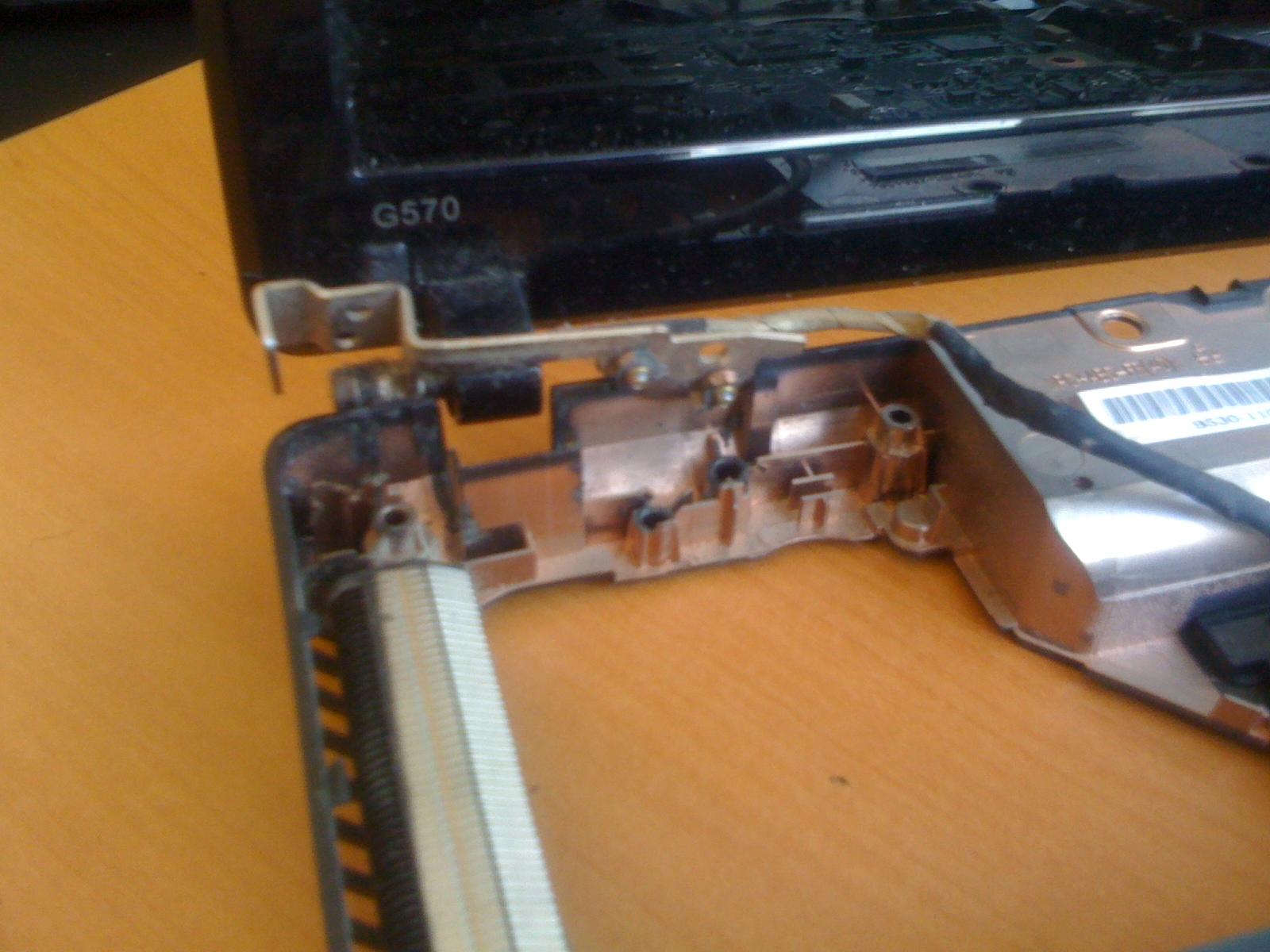 Как сделать петли на ноутбук