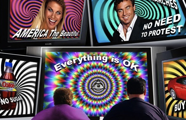television the plug in drug