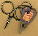 Ewe Be Patriotic Scissor Fob - $11.50