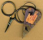 Ewe Be Patriotic Scissor Fob - $11.50