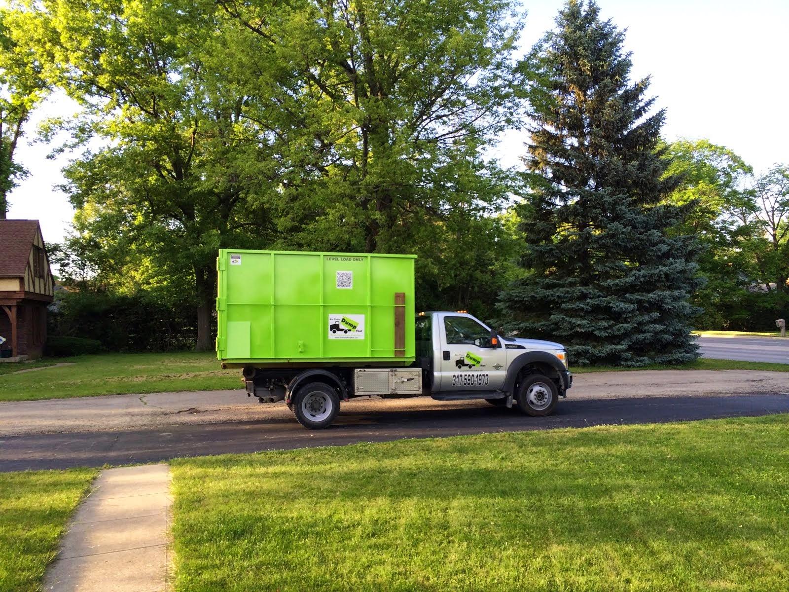 Bin Delivery Truck