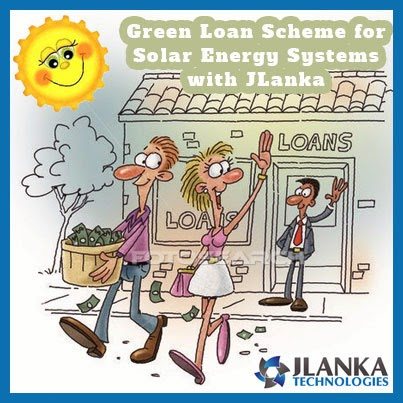 Going solar is easier than ever with JLanka Green Loan scheme for solar installations in Sri Lanka.