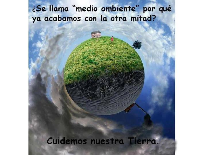 Frases del medio ambiente con su dibujo - Imagui