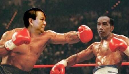 Jokowi vs prabowo images