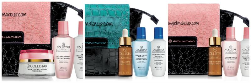 Preview : Collistar & Piquadro confezioni regalo Natale 2014