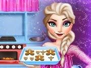 Frozen Elsa Cooking Gingerbread