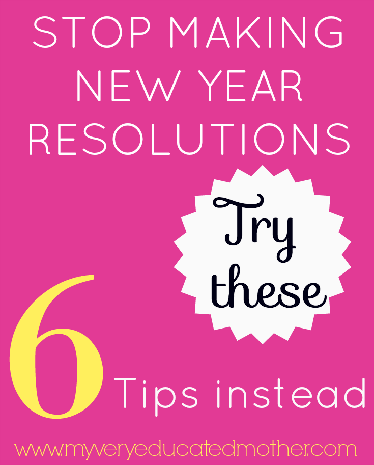 Don't let unattainable new year's resolutions throw you off your game! Here are 6 tips to help you refresh your plan and make this year even better than the last!