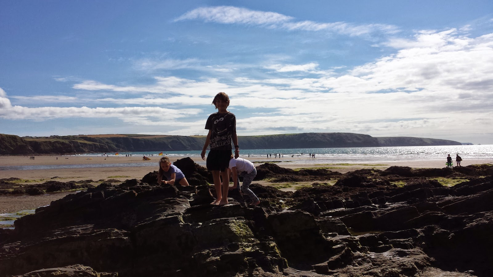 Broad Haven Beach Family Fun Pembrokeshire Wales Country Kids #CountryKids
