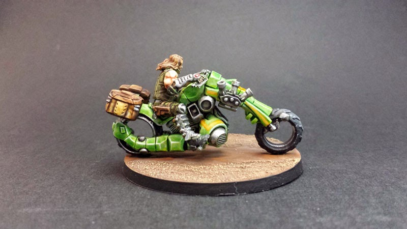 KUM MOTORIZED TROOPS - HAQQISLAM - INFINITY THE GAME 4