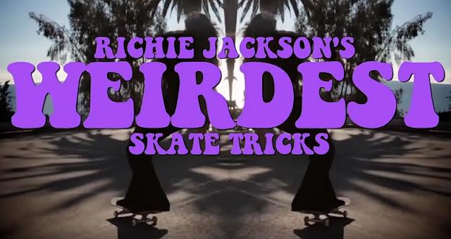 Richie Jacksons abgefahrene Skate Tricks | Weirdest Skate Tricks