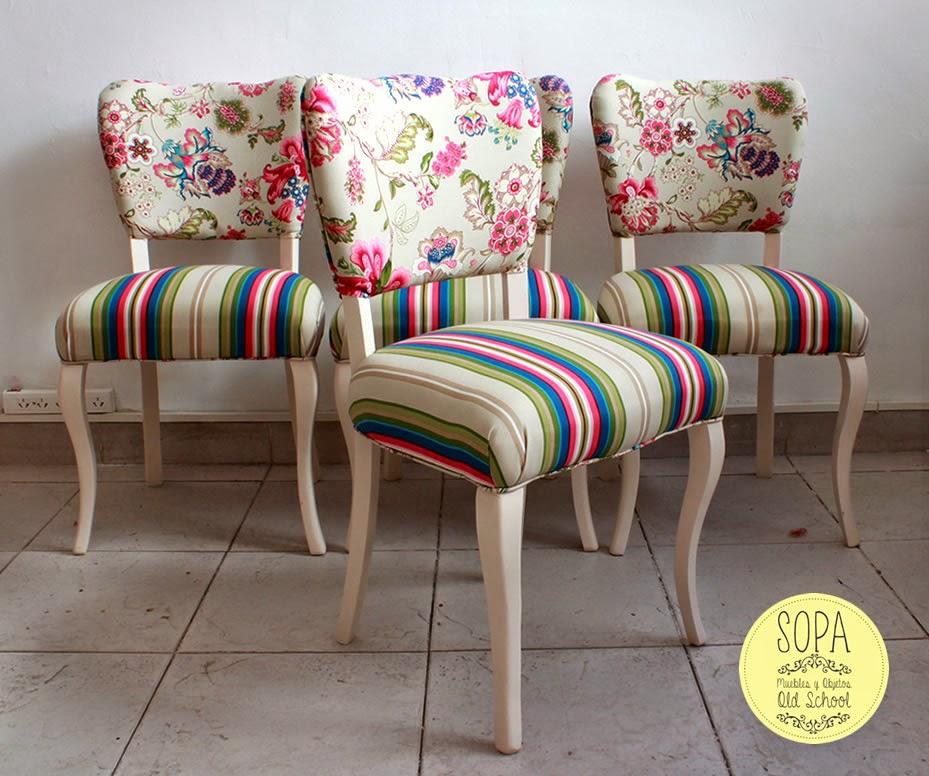 Sopa muebles y objetos old school diciembre 2014 - Tapizado de sillas antiguas ...