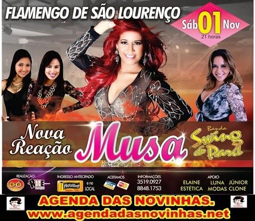MUSA NO FLAMENGO DE SÃO LOURENÇO.