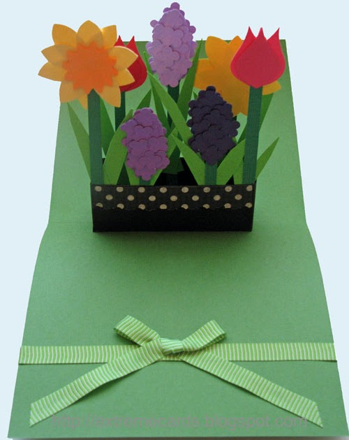 extreme cards and papercrafting  mother u0026 39 s day window box