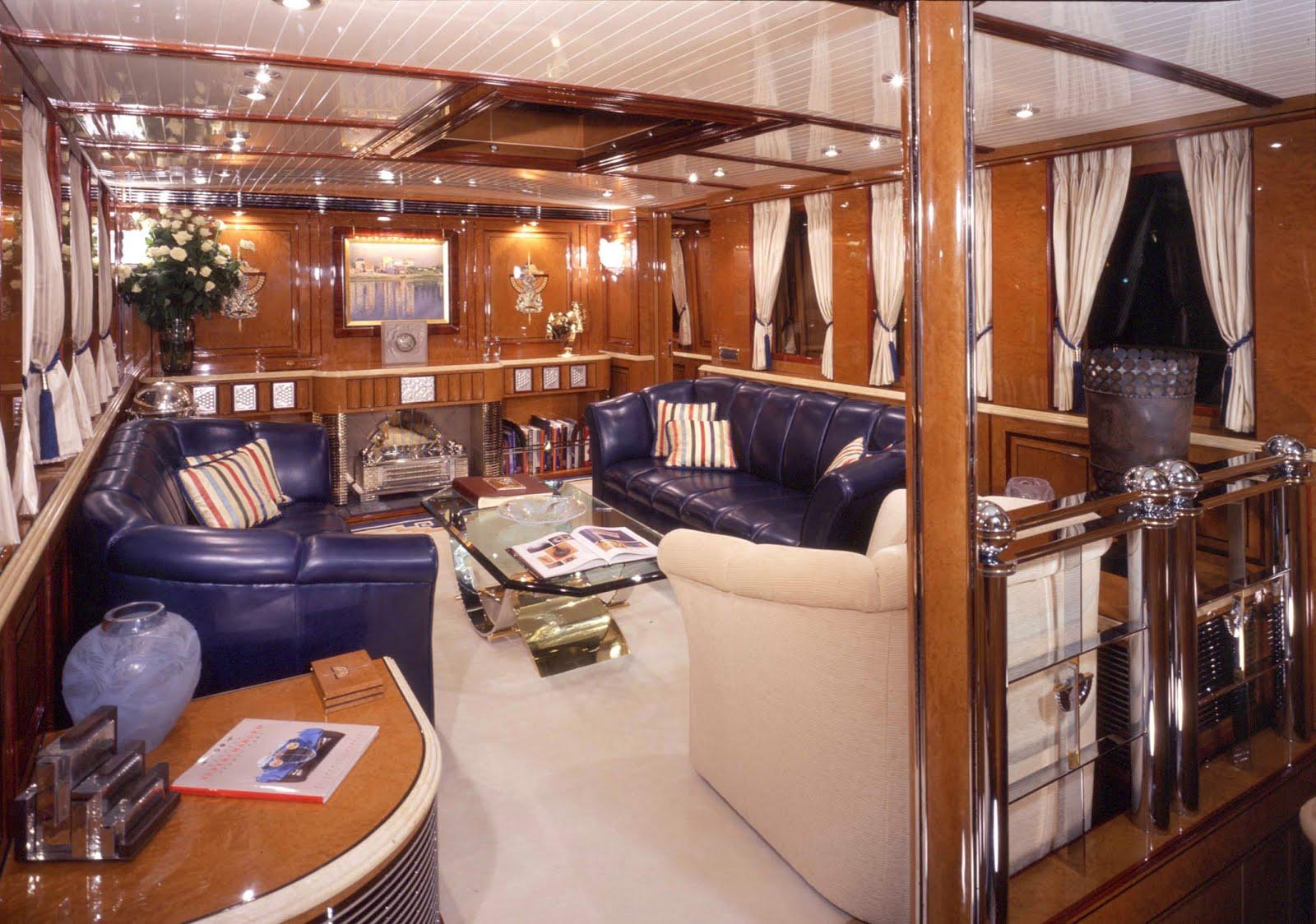 Classic Yacht Interior Design Megayacht global: tom perkins 37m ...