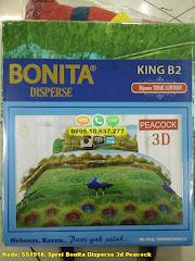 Harga Sprei Bonita Disperse 3d Peacock Jual