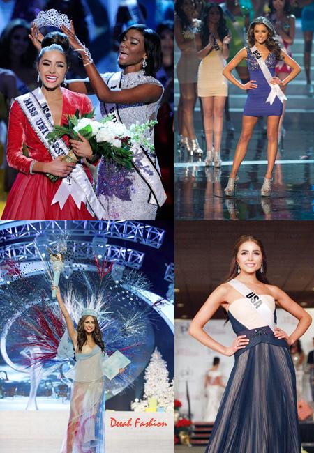 Busana Olivia Culpo Miss Universe 2012