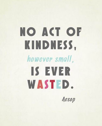In the Face of Tragedy Choose to Commit to Random Acts of Kindness. Here are a Few: