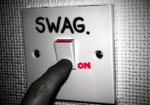 the history of swag Did the word 'swag' begin in the 1960s as an acronym for 'secretly we are gay.