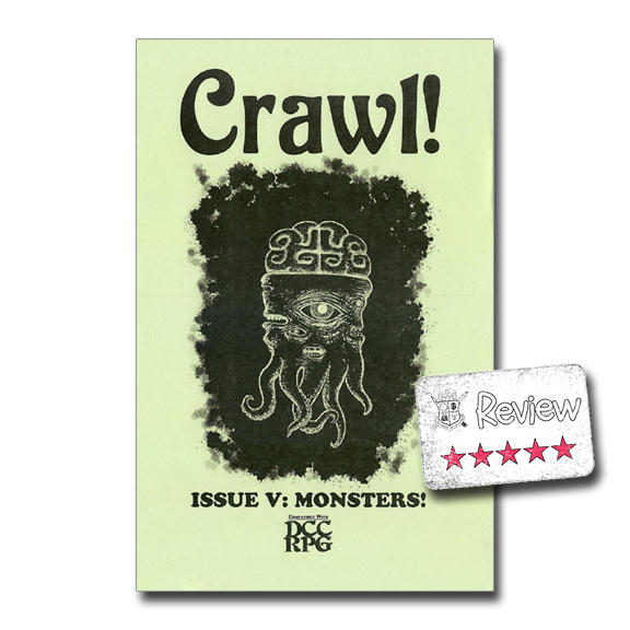 Frugal GM Review: Crawl! (DCC RPG Zine)