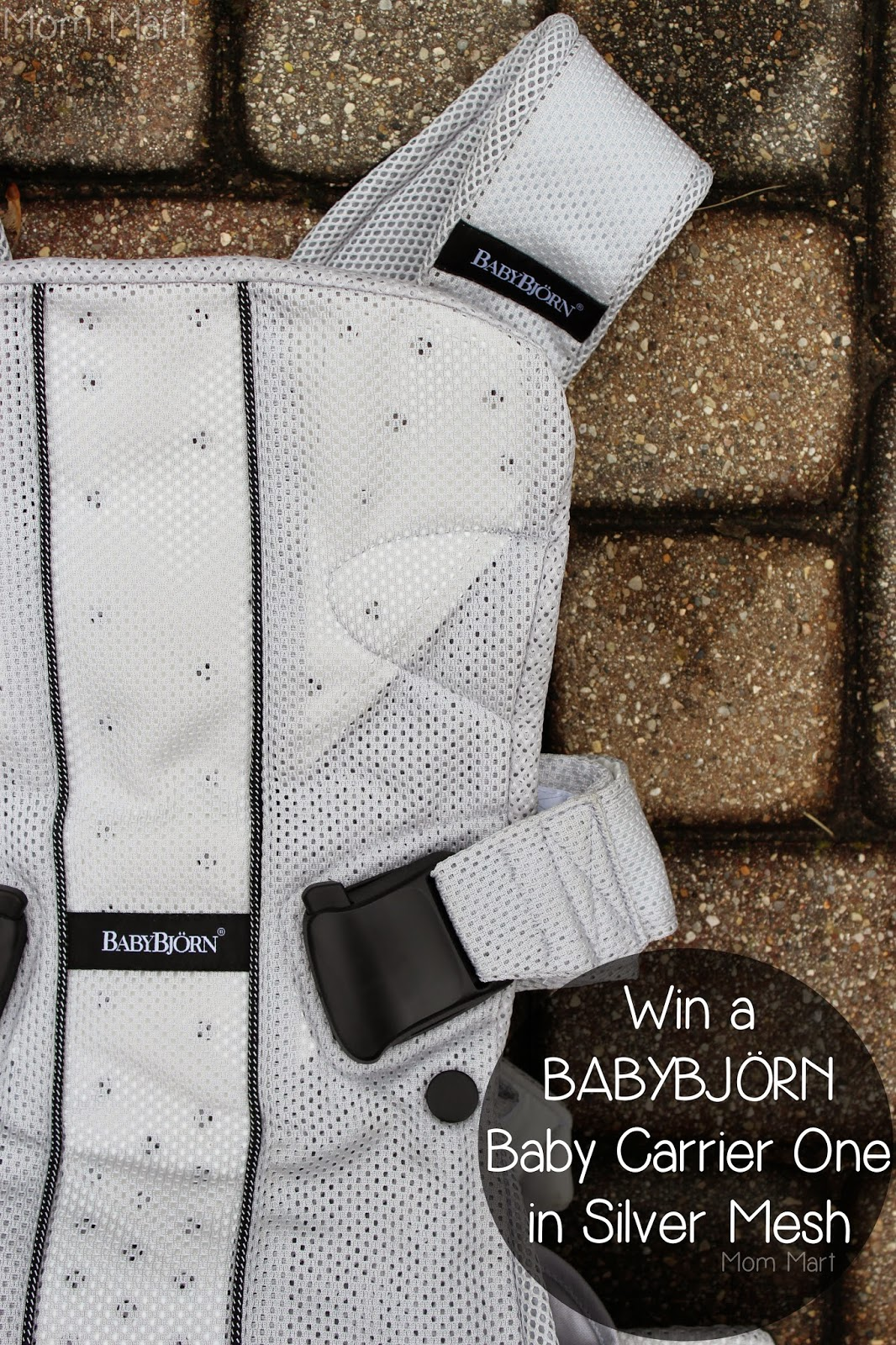 Enter to #Win a BABYBJÖRN Baby Carrier One in Silver Mesh #BabyWearing #BabyCarrierOne #OneIsAllYouNeed #Giveaway