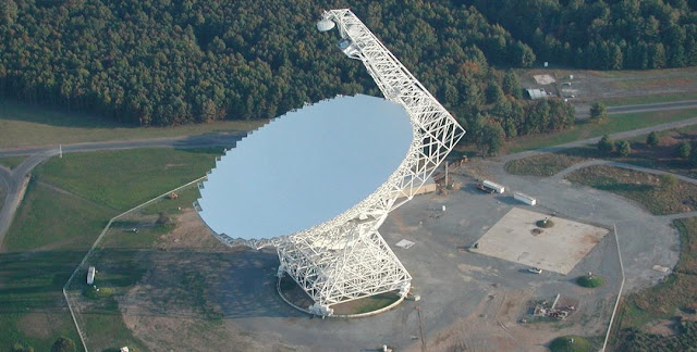 Green Bank Telescope. Credit: savethegbt.org