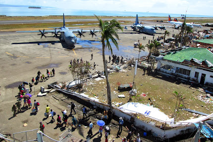 ASSISTANCE CONTINUES TO TYPHOON SURVIVORS